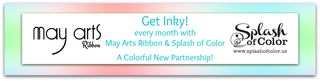 May arts & splash of color blog hop banner