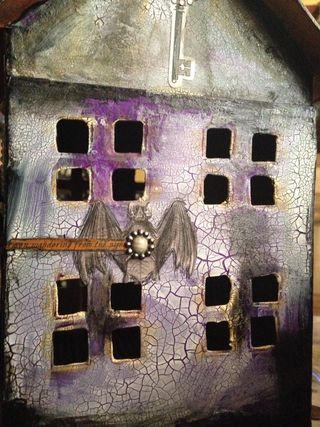 Poe bat wall